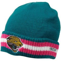Jacksonville Jaguars Breast Cancer Awareness Beanie Jacksonville Jaguars 067e0f0c7