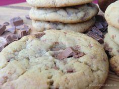 Original Amerikanische Chocolate Chip Cookies Chocolate Chip Cookies, Brownie Cookies, Cake Cookies, Farmhouse Christmas Decor, No Bake Cake, Muffins, Bakery, Chips, Yummy Food