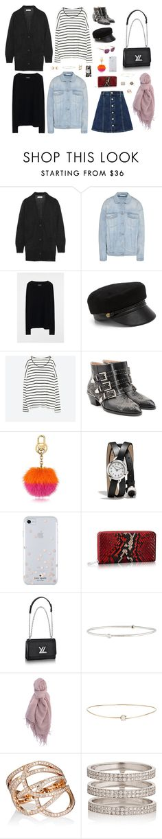 """""""🥗"""" by lilsgrey ❤ liked on Polyvore featuring Étoile Isabel Marant, AG Adriano Goldschmied, STELLA McCARTNEY, Zadig & Voltaire, Eugenia Kim, Zara, Chloé, Coach, Kate Spade and Ippolita"""