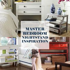 Nightstand Bedside Table Inspiration