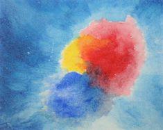"""Aquarelle Steiner - Story: """"Couleurs"""". Une adaptation d'une histoire d'inspiration Steiner pour présenter les couleurs ."""