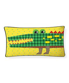 Look At This Crocodile Pillow On #zulily Today! Ideas