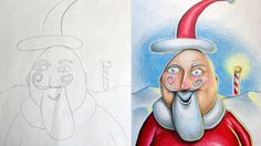 This Artist Builds On His Kids' Sketches.