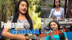 HEBOH Pengamen Cantik mulus Grogol Full (beautiful street musician)