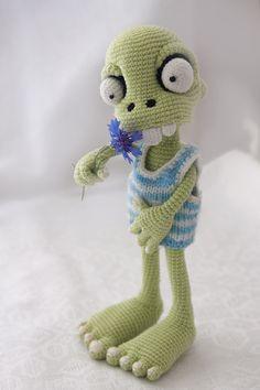 PATTERN - Zombie boy - crochet pattern, amigurumi pattern, pdf