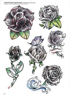Rose tattoo | 65 photos | VK