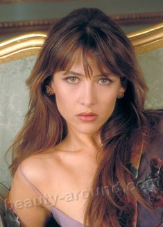 Sophie Marceau the most charming French actress
