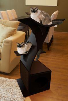 Little Lotus Cat Tree - The Refined Feline