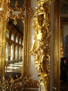 State Hermitage Museum - Saint Petersburg, Russia / Interior detail
