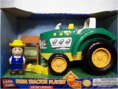 Little Tots Farm Tractor Playset -- This is an Amazon Affiliate link. Continue to the product at the image link.