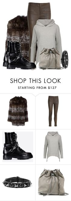 """Winter Warmers"" by hattie4palmerstone ❤ liked on Polyvore featuring Yves Salomon, Rabens Saloner, Valentino, LnA and STELLA McCARTNEY"