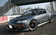 Read the Honda Tuning Feature article on this JDM 91 Honda CRX packed Mugen goodies. Honda Crx, Honda Civic Si, My Dream Car, Dream Cars, Sport Street Style, Civic Hatchback, Japanese Cars, Car Manufacturers, Cars Motorcycles