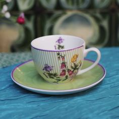Hedgerow Espresso Set  €12.95 Best Sellers, Espresso, Tea Cups, Chic, Tableware, Kitchen, Kitchens, Espresso Coffee, Shabby Chic