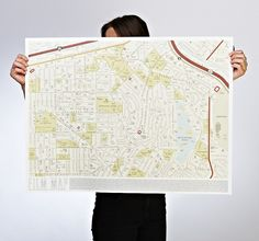 Film map by Dorothy. One of the four gorgeous map prints from #AMapofTheWorld