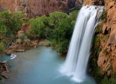 Havasu Falls in Arizona (VS)