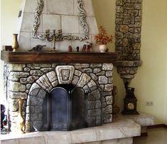 Камин из гипсокартона своими руками: этапы монтажа | Строй Советы
