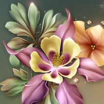 Moonbeam's Fleurs de la Foret 2D 3D Models moonbeam1212