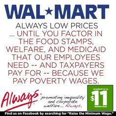 wal mart initiatives that benefit society Walmart's sustainability initiatives explained by working with our suppliers to help reduce the emissions associated with their wal-mart's sustainability.