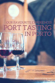 Our Favourite Experiences Port Tasting In Porto Portugal. #portwine #porto #portugal