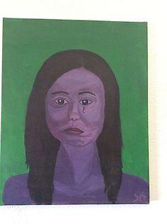 Gemälde Malerei Surrealismus Expressionismus 40x50 cm Akrylgemälde