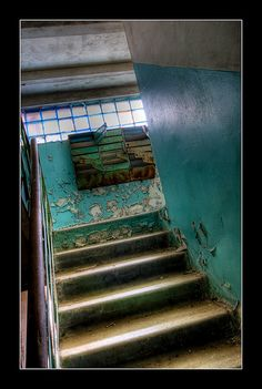 Apartment Block Staircase, via Flickr.