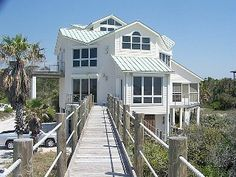Bella Vista, Fall Rates, Gulf Front, Very Private, Elevator, Pets, Wifi, NiceVacation Rental in Cape San Blas from @HomeAway! #vacation #rental #travel #homeaway