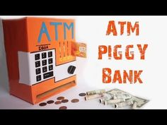 How to make an ATM PIGGY BANK at Home Just5mins #2 - YouTube