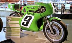 1972: KAWASAKI H2R FACTORY - 'RANDY HALL SPECIAL': This H2R was ridden by some of the most famous Kawasaki riders of the era, including Gary Nixon, Art Baumann, Hurley Wilvert and Gregg Hansford