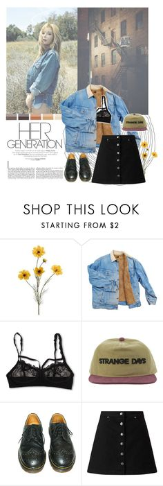 """""""Hyuna: It's My Life"""" by supremebts ❤ liked on Polyvore featuring Hanky Panky, Dr. Martens, Miss Selfridge, kpop, hyuna, 4minute, Ulzzang and 4M"""