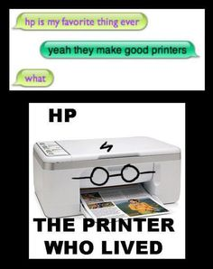 It is the Chosen Printer!
