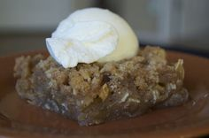 Apple Crisp - 365 Days of Baking
