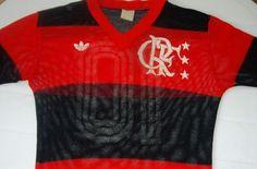Camisa do Flamengo Adidas n°10 década de 80