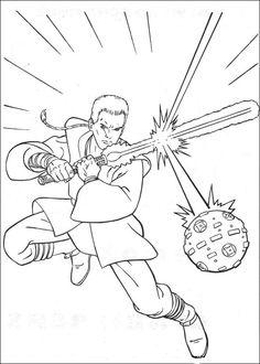 coloriage dessins dessins imprimer et la couleur en ligne star wars 56