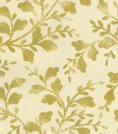 Home Decor Print Fabric- HGTV HOME Intertwined Gold