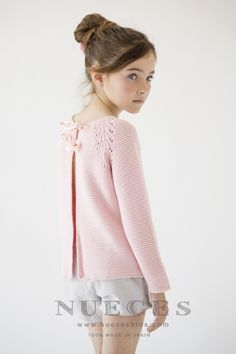 Stylish Clothes For Girl Stylish Clothes For Girls, Cute Little Girls Outfits, Stylish Outfits, Trendy Dresses, Moda Tween, Tween Mode, Knitting For Kids, Baby Knitting, Knit Cardigan Pattern