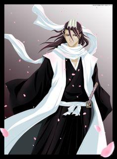 Byakuya Kuchiki from Bleach