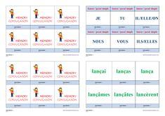 Un jeu de conjugaison pour apprendre et mémoriser la conjugaison au passé simple des verbes lancer - manger - jeter - appeler Cycle 3, Bicycle Quotes, Weight Loss, Memories, Teaching, Education, School, Life, Montessori