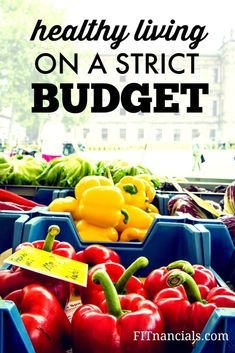 I believe eating healthy can be done on a strict budget. Depending on where you go, groceries can vary in price. I go to Aldi's for my groceries, and sometimes Diebergs/Shop N Save for other items I can't find at Aldi's.