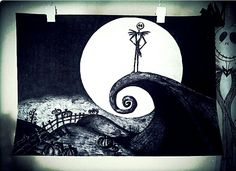 #timburton #jackskelington #drawing