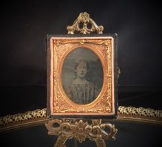 A personal favorite from my Etsy shop https://www.etsy.com/listing/227464858/antique-photo-portrait-leather-tin-type