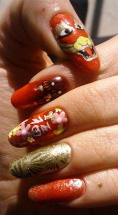 Chinese New Year by areinard - Nail Art Gallery http://nailartgallery.na... by Nails Magazine http://www.nailsmag.com #nailart