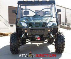 Product Review Of Odes Dominator 800 Work Utility ATV @ http://www.atvjunction.com/