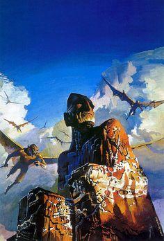 Bruce Pennington - The Stone God Awakens, 1976 by Aeron Alfrey, via Flickr