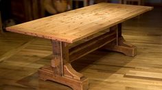 How To Build A Dining Table.