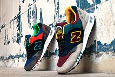 #new #balance #sneaker #cool #colorful #men #style