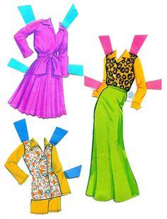 Vintage Barbie & Francie - outfits