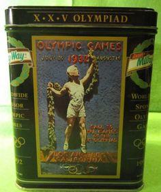 Mars Milky Way Worldwide Sponsor Olympic Games 1992 Tin