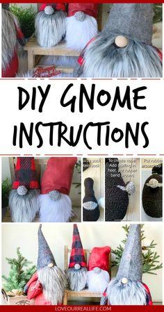 gnomes diy how to make & gnomes diy how to make + gnomes + gnomes diy how to make from socks + gnomes crafts + gnomes diy + gnomes diy how to make pattern + gnomes diy free pattern + gnomes diy how to make no sew Diy Xmas, Diy Christmas Gifts, Christmas Projects, Simple Christmas, Christmas Gnome, Holiday Crafts, Christmas Sewing, Santa Gifts, Handmade Christmas