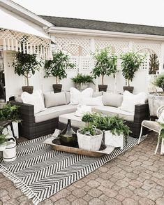 outdoor rooms So it's been about a week since I announced the reveal of our back patio makeover over on the Home Depot website. Back Patio, Backyard Patio, Backyard Landscaping, Backyard Ideas, Landscaping Ideas, Private Patio Ideas, Patio Oasis Ideas, Corner Patio Ideas, Patio Set Up