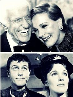 Julie Andrews, Dick Van Dyke. Now and then.